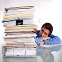 Tired with filing